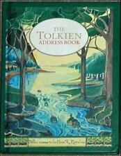 THE TOLKIEN ADDRESS BOOK ~ ULTRA RARE WRITING JOURNAL Lee ILLUSTRATED HARDCOVER!
