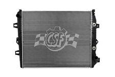 Radiator-2 Row Plastic Tank Aluminum Core CSF 3584
