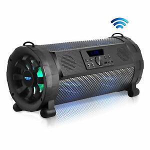 Pyle Bluetooth Boombox Street Blaster Stereo Speaker - Portable Wireless 300 Wat