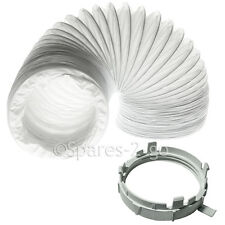 TRICITY BENDIX Autodryer Tumble Dryer Vent Hose Vented Adaptor Ring Nut Clip 2m