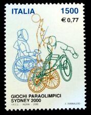 ITALIA 2000 2457 J.PARAOLIMPICOS SIDNEY 2000 1v.