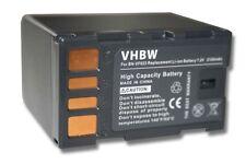 AKKU FÜR JVC BN-VF823 mit DATA-CHIP GZ-HD3 HD5 HD5EX