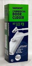 Sargent Commercial Door Closer B82 B82302H Size #3 ALUMINUM