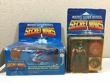 1984 Marvel Super Heroes Secret Wars Turbo Cycle & Captain America figure lot