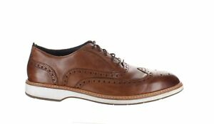 Bruno Magli Mens Westy Cognac Wing Tips Size 10 (1632520)