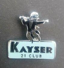 More details for kayser bondor 21 club vtg fashion advertising badge
