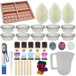 Wax Melt kit ~ Huge learner Fragrance Oil Starter Candle Making ~ Kit 25 Perfume