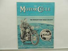 Dec 1954 The Motorcycle Magazine BSA Francis-Barnett Cruiser Falcon Avon L8372