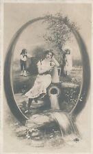 Letter O Postcard - udb (pre 1908)