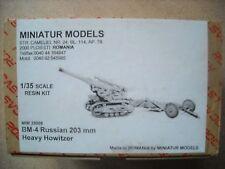 MINIATUR MODELS-1/35-#35009- BM-4 RUSSIAN 203 MM HEAVY HOWITZER