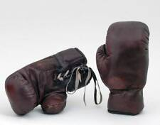 New Vintage Real Leather Boxing Gloves Retro Full Size 1930s style hand stitched