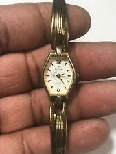 Nice Ladies Gold Tone Titan Raga Analog Watch