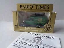 """Lledo Model --No 13 Model A Ford Delivery Van """"Radio Times"""""""