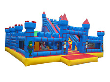 40x35x25 Commercial Inflatable Water Slide Obstacle Course Bounce House Bouncer
