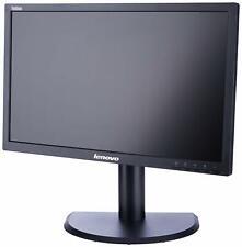 """Lenovo L2440PWC 24"""" Widescreen Full HD LCD PC Monitor VGA DVI Warranty Cables"""