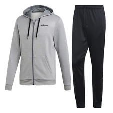 Adidas Men Hoodie Tracksuit Classic Set Linear French Training Gym Sports EI5558