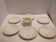 LOT OF 7 FRANCISCAN ATOMIC STARBURST 1 CUP AND 6 SAUCERS NICE