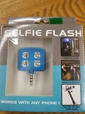 SELFIE FLASH! LED picture light, works with any phone (free shipping)