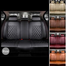 NEW Multi-color Luxury PU Leather Car Protector Rear Seat Cover Pad Breathable