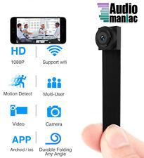 Spy Hidden Camera Wireless Wi-Fi Mini Camera 1080P APP Portable Covert Security