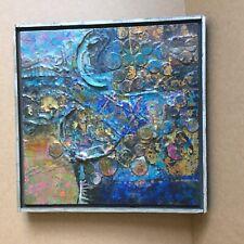 Robert Sullins Framed Mixed Media Painting '' DALI GENERAL''