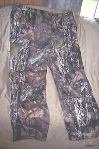 Men 3X Camo Pants Mossy Oak Camo Hunting Pants Advanced Scent Control Pants $140