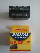 Tera np-f970 8600 mah batteria fotocamera per Sony np-f930 f950 f960 f970 dsr-pd19 video