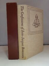 Confessions of Jean-Jacques Rousseau Heritage Press Sandglass Illustrated