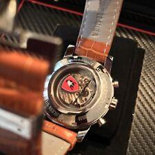 Tonino Lamborghini Limited Edition Moon Automatic Silver LC6508 RearWindow Watch