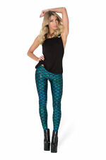 130650 Snow Washed Print Leggings Sourpuss Stretchy Comfy Goth Punk Metal SMALL
