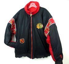 Reversible CHICAGO BLACKHAWKS NHL Puffer Winter Coat Jacket Pro Player Size XL
