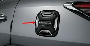 Fule Lid Cover Black Abs For Toyota Fortuner 2015-20