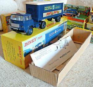 Sublime RARE Vrai Dinky toys France Meccano Unic Pam Pam SNCF 803  Boite origine
