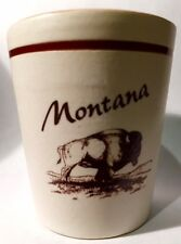 MONTANA Marrón Búfalo Cerámica Vaso de chupito shotglass