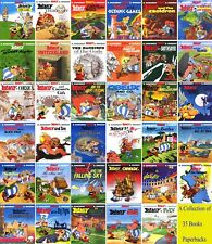 Asterix Comics Books Set - A Collection of 35 Brand New Paperbacks