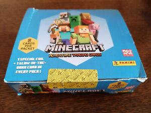 MINECRAFT panini - sealed box 18 packs