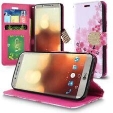 Fundas y carcasas color principal multicolor de piel para teléfonos móviles y PDAs LG