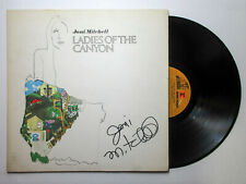 Joni Mitchell Signed Autographed 'Ladies of the Canyon' Vinyl Album PROOF BAS