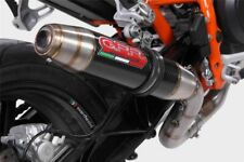 KTM Duke 690 2012-2016 GPR Exhaust Systems Deeptone Race Carbon Look Decat Can