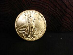 1914D Saint Gaudens $20 gold