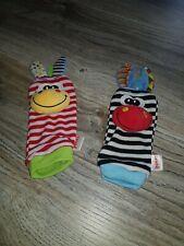 Rasselsöckchen Baby Rassel Strümpfe Socken socks 3D Motive