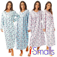 i-Smalls Ladies Oversized Thermal Cotton Nightdress Floral Design M-3XL