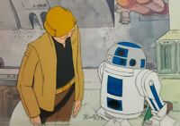 Star Wars Holiday Special Original Production Cel Animation Cartoon Art Disney