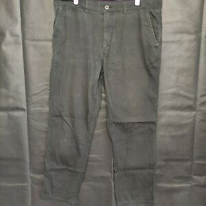 Fred Perry Men's Black Chino Pants Size 34