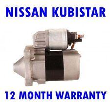 NISSAN KUBISTAR BOX 1.6 BOX 2003 2004 2005 2006 2007 - 2015 RMFD STARTER MOTOR