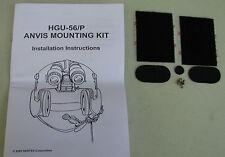 HGU-56 ANVIS MOUNTING KIT w Install Instructions     new  (LOC = Gr. Bk Cs)