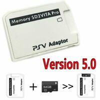V5.0 SD2VITA PS Vita Memory Card Adapter for PS Vita Game Card 3.60 System BEU