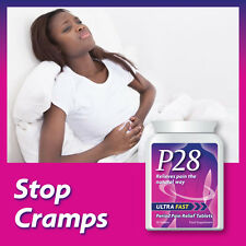 P28 ULTRA FAST PERIOD PAIN RELIEF TABLETS STOP DYSMENORRHOEA EXTREME PAIN PILL