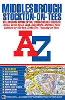 Middlesbrough Street Atlas (paperback) (A-Z Street Atlas) by Geographers A-Z Map