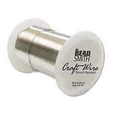 26 Gauge 102 Feet Bright Silver Craft Wire Non Tarnish 31 Meters Wrapping Craft
